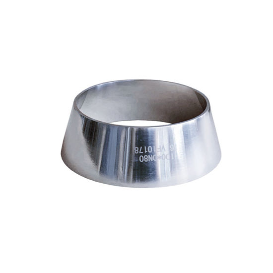ASTM/ANSI Mirror Polishing Concentric Reducer Hygienic Pipe Fitting