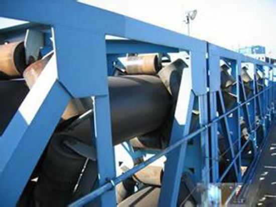High-Performance Large Inclination Upward Belt Conveyors for Material Handling