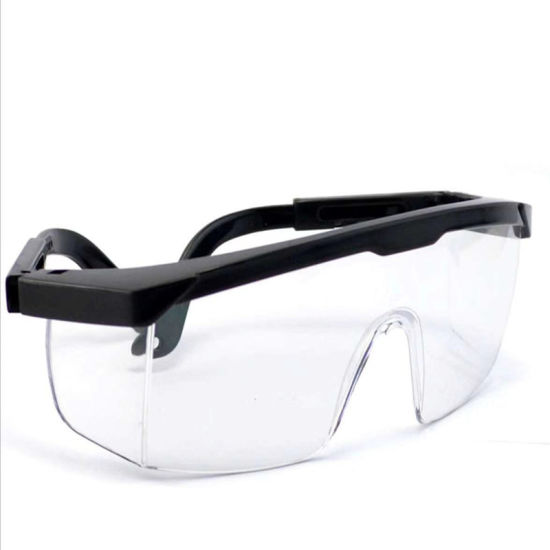 PPE Transparent Safety Goggles Anti Fog Medical Goggles