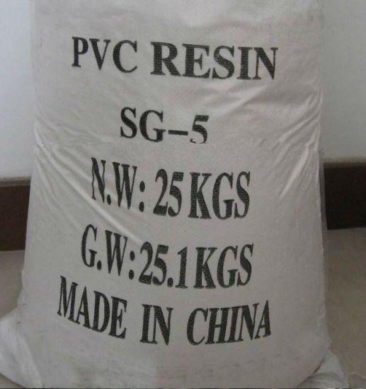 Polyvinyl Chloride PVC Resin Sg5 K67 for PVC Film/ PVC Sheet/ PVC Plastic