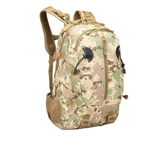 Hiking Bag Manufacturer Wholesale Outdoor Sports Travel Camouflage Backpack Double Shoulder Backpack Oxford Cloth Tactics 3D Military Backpack