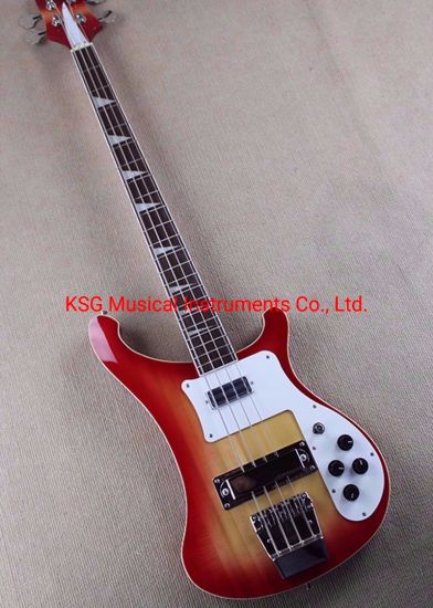 7360d894c8 Cherry Red Finish Rickenback 4003 Bass Ricken Fireglo Type 4003 Electric  Bass
