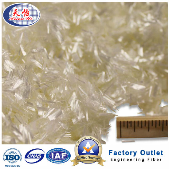 Water Soluble Concrete Reinforcement Synthetic Fiber Chopped Polyvinyl Alcohol (PVA) Fiber pictures & photos