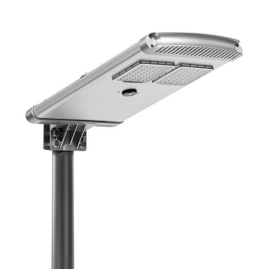 High Power Aio Smart Flat Solar LED Street Light 30W