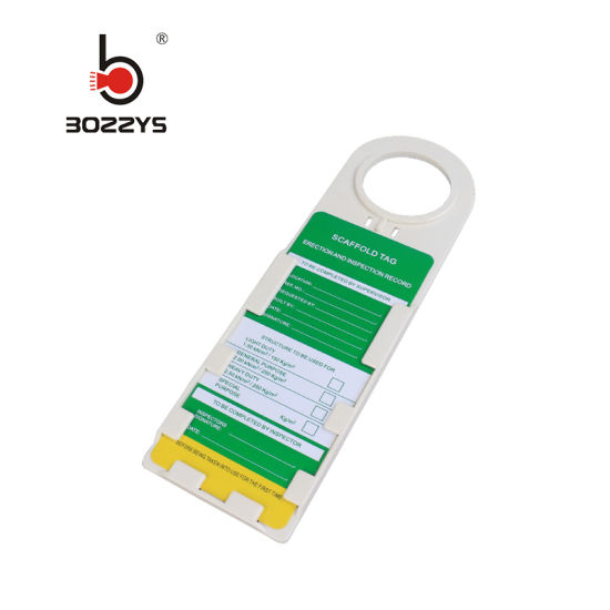 Plastic Scaffold Tagout Lockout Without Inspection Record (BD-P33)