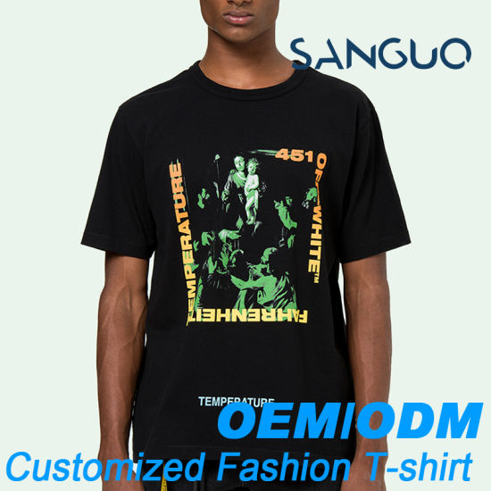 OEM Service T Shirts Custom Printing for Men pictures & photos