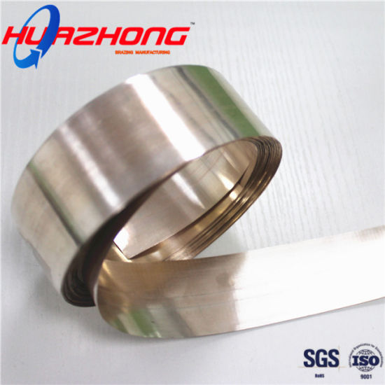 Silver Brazing Strip Malaysia Welding Alloys Flexible Copper Foil