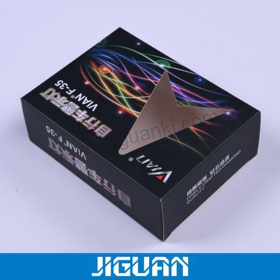 Printed Display Cosmetic Chocolate Perfume Vial Window Packing Essential Oil Gift Packaging Paper Box