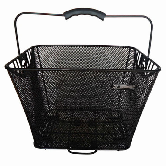 Bike Accessories Steel Bicycle Basket (HBK-103)