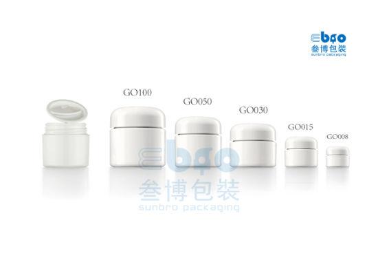 30g/50g/100g Cosmetic Packaging Plastic PETG Series Cream Jar