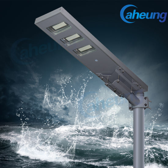 Factory Direct All-in-One/Integrated Outdoor Solar LED Light Sensor Street Light with High Brightness
