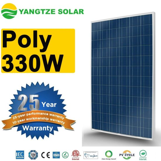 Hot Sale Yangtze 330W Poly Solar Panel pictures & photos