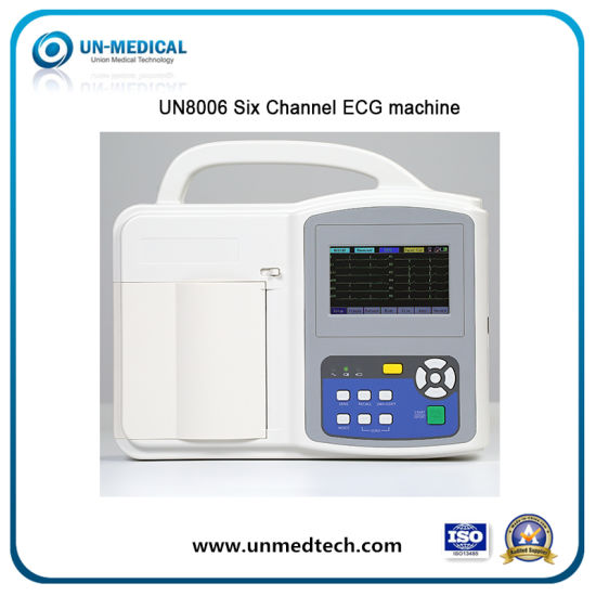 10 Lead/3/6/12 Channel ECG Machine with Touchscreen