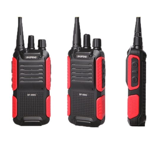 Cheap Portable Walkie Talkie UHF Radio Baofeng Bf-999s Red Long Distance Wireless