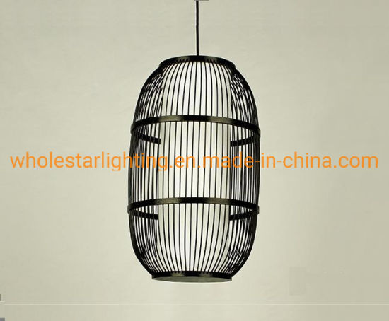 Rattan lamp, bamboo pendant lamp (WHP-375) pictures & photos