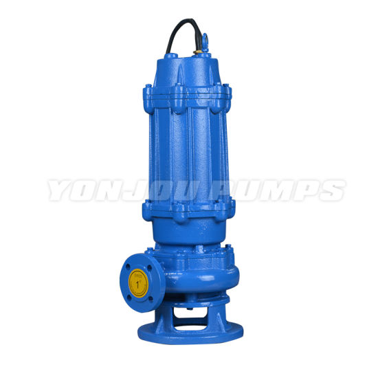 Stainless Steel Dewatering Non-Block Sewage Centrifugal Submersible Pump (for Waste Water / Fecal)