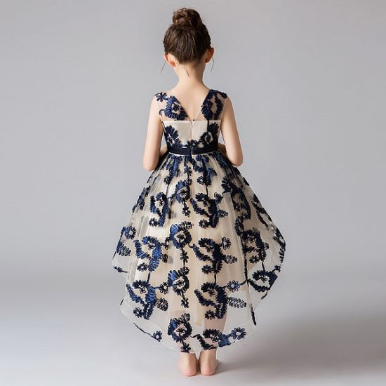 The New Fashion Trailing Princess Dress Of The Girls Children S Products Baby Girl Party Wear Fashion Kids Flower Girl Dress Wholesale Kids Garment China Children Dress And The Princess Skirt Price