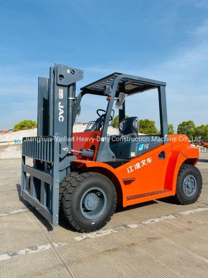 JAC 7 Ton Diesel Forklift/Cpcd70j/Heavy Forklift/Forklift Truck