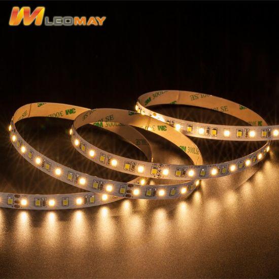 Energy saving 2835 120 24V CCT LED strip.