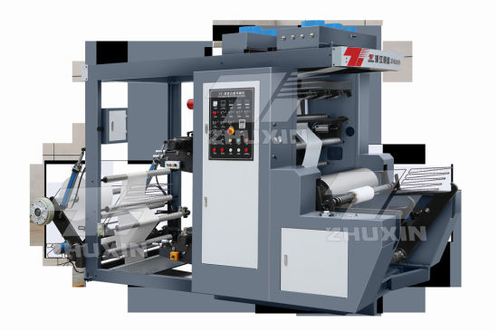 Zhuxin High Speed Two Color Flexible Printing Machine Paper Film