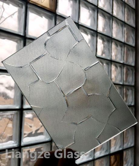 High Quality 3mm 4mm 5mm 6mm Patterned/Figured Glass for Building Karatachi Beehive Masterlite Millennium