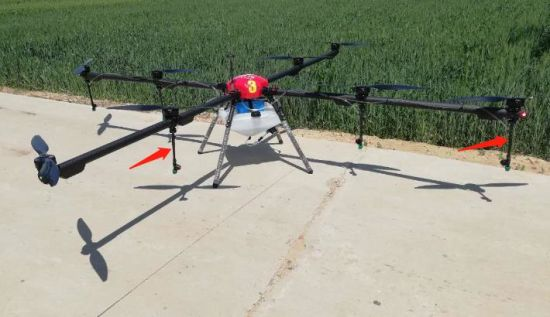 China 10kg 20kg Auto Flight Spray Agriculture Drone - China