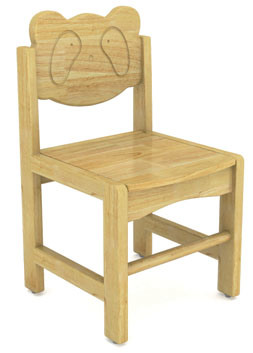 Tongyao Wholesale Kid Furniture Wooden Leisure Chair