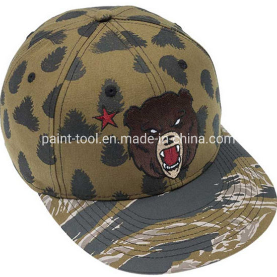 Custom Kids Sun Hat Screen Printing Flower Bucket Hat pictures & photos