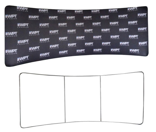 20 ′ Tension Fabric Backdrop Wall Pop up Banner Display for Trade Show pictures & photos