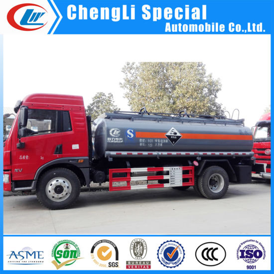 China Chemical Tanker Trucking Manufacturers Chemical Delivery Truck for Sale