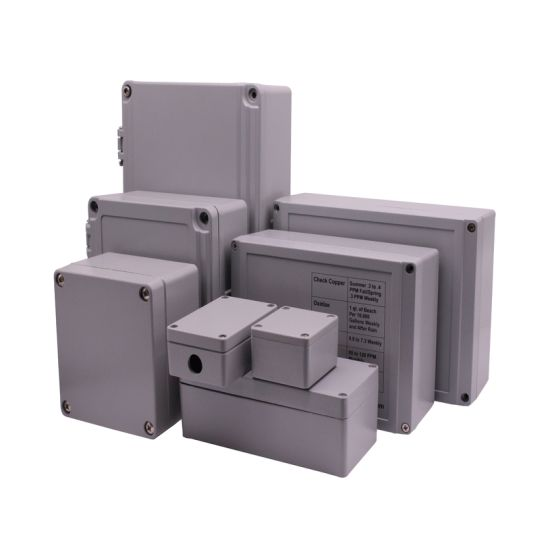 Waterproof IP65 Hot Sale Black Aluminum Electronic Enclosure Junction Box