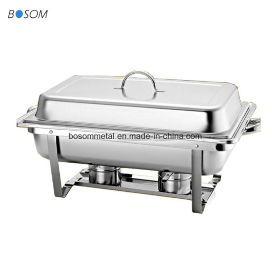 2019 High Quality Stainless Steel Chafing Dish for BBQ Buffet Party