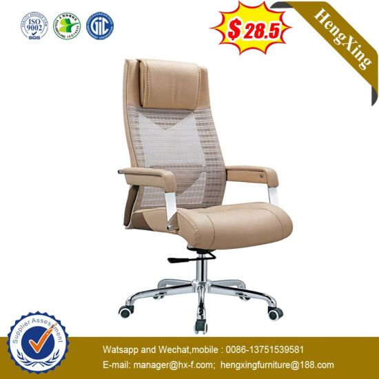 Aluminium Swivel Office Executive Manager Mesh Chair pictures & photos