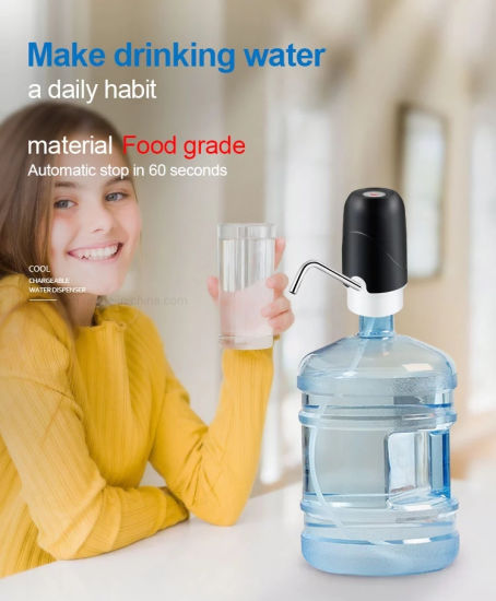 Portable Mini Battery Operated Electric Drinking Water Pump for 5 Gallon Bottle2 Buyers Wd02