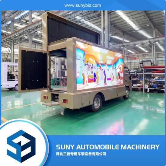 China Supplier Tanzania Used Full Color P6 Outdoor Mobile LED Video Truck/Car/Van Advertising Display Moving LED Display