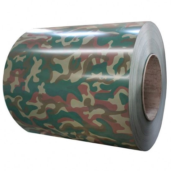 Three-Color Camouflage Pattern PPGI for Roofing Sheet
