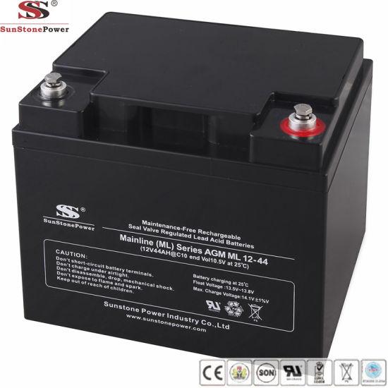 Sunstone Power 12V 44ah UPS VRLA Battery for Wholesale