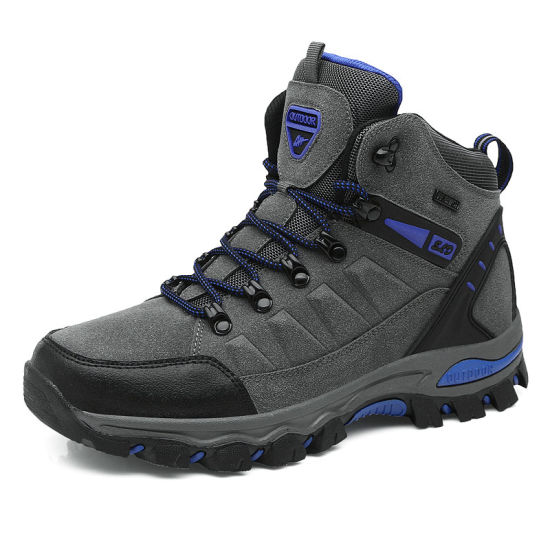 Mens Best Casual Shoes Lightweight Waterproof Hiking Boots pictures & photos