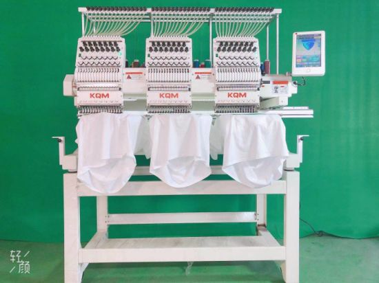 Newest Multi Head Bigger Flat Clothing 3D Embroidery Machine Computer Price 3 Head Barudan Automatic Embroidery Machine Japan in China