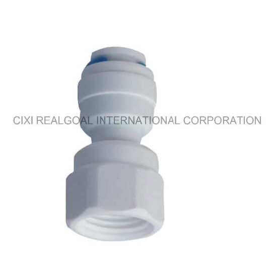 "RO Quick Fitting Manufacturer Straight 1/4"" Female X 1/4"" Tube RO Pipe Quick Fitting Connect for RO System Water Filter Purifier"
