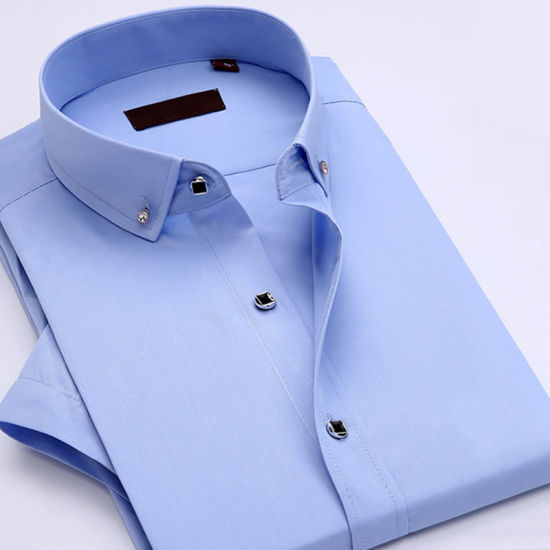 8f2874fb9 Professional Non-Iron Wrinkle Cotton Business Dress Shirts for Men pictures  & photos
