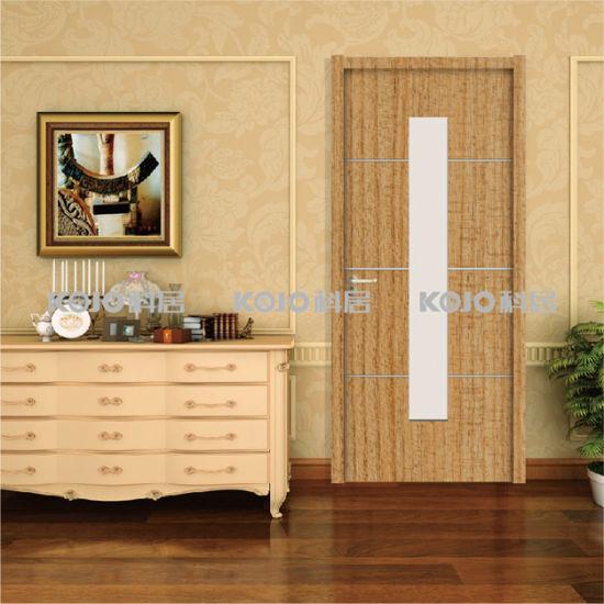 China Environmental Protection Waterproof Wpc Interior Fire Door