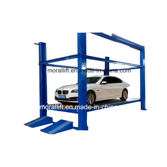 High Rise CE Approved Four Post Car Platform Lift for Sale