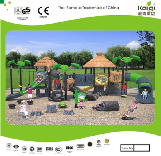 Kaiqi Medium Sized Forest Themed Children's Playground Set (KQ35007A)