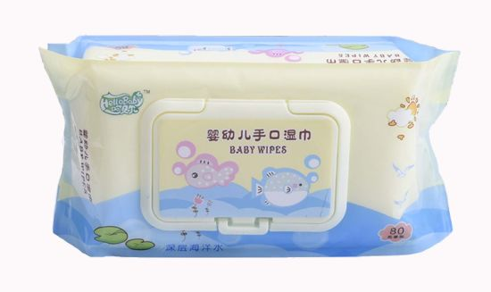 80 PCS Bag Thickening Type Baby Tissue pictures & photos