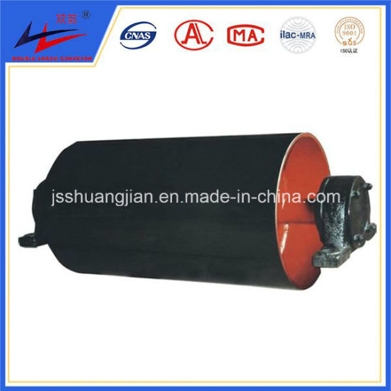Rubber Lagging PU Lagging Drum Pulley Bend Pulley for Material Handling Machine pictures & photos