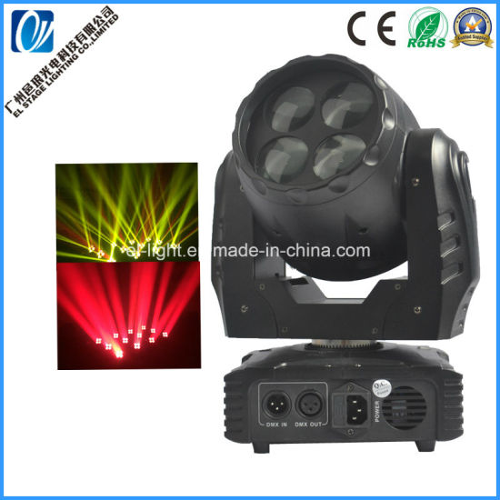 China Super Bright Mini Led Beam Moving Head Light With Rainbow