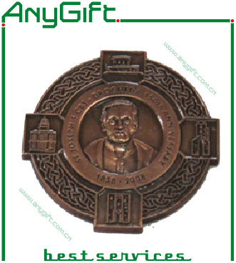Zinc Alloy Die Casting 3D Medal with Ribbon pictures & photos
