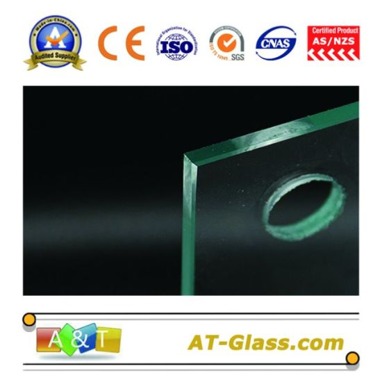 80998f654a6c 3-19mm Tempered Glass/Bullet-Proof Glass Polishing Edging, Hole Punching