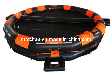 50man 65 Man Open Reversible Inflatable Life Raft for Sale
